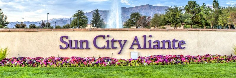 Sun City Aliante Homes for Sale